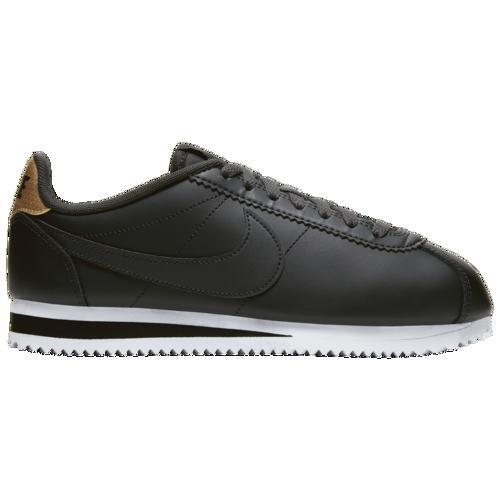 (取寄)ナイキ レディース クラシック コルテッツ Nike Women's Classic Cortez Off Noir Off Noir Black Metallic Gold White