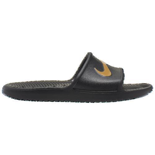 (取寄)ナイキ メンズ サンダル カワ シャワー スライド Nike Men's Kawa Shower Slide Black Wheat