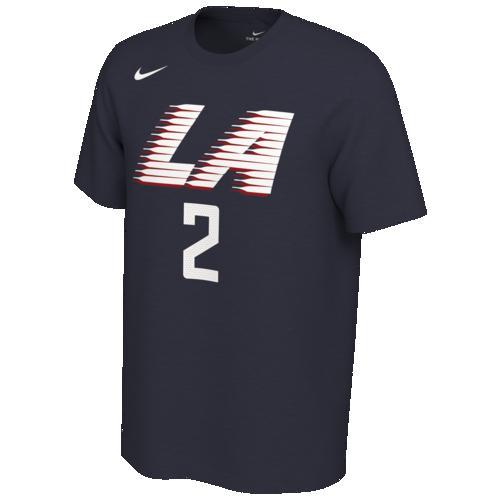 (取寄)ナイキ メンズ NBA シティ エディション ネーム アンパサンド ナンバー Tシャツ ロス エンジェルス クリッパーズ Nike Men's NBA City Edition Name & Number T-Shirt ロス エンジェルス クリッパーズ Navy