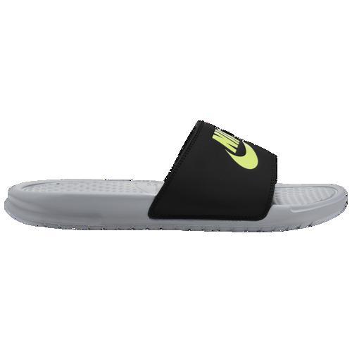 (取寄)ナイキ メンズ ベナッシ JDI スライド Nike Men's Benassi JDI Slide Wolf Grey Volt Black