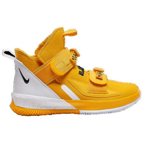 (取寄)ナイキ メンズ バッシュ レブロン ソルジャー 13 SFG バスケットボール シューズ Nike Men's LeBron Soldier XIII SFG University Gold Black White