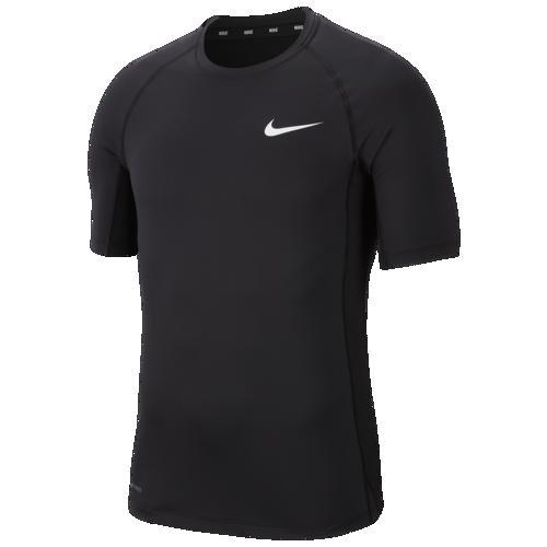 (取寄)ナイキ メンズ プロ フィッティド トップ Nike Men's Pro Fitted Top Black White