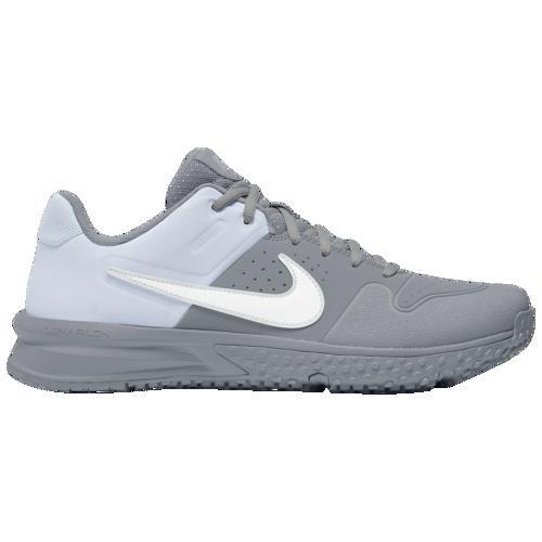 (取寄)ナイキ メンズ アルファ ハラチ バーシティ ターフ Nike Men's Alpha Huarache Varsity Turf Wolf Grey White Pure Platinum