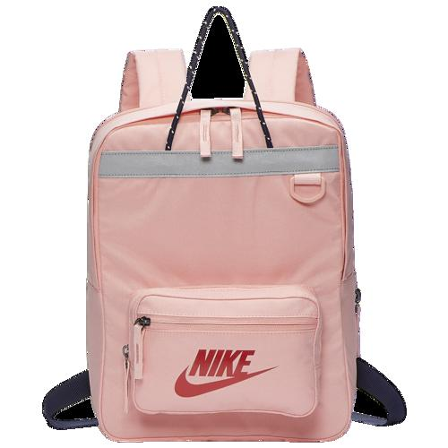 【クーポンで最大2000円OFF】(取寄)ナイキ Tanjun バックパック Nike Tanjun Backpack Bleached Coral Blackened Blue Metallic Red
