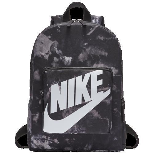 (取寄)ナイキ クラシック AOP バックパック Nike Classic AOP Backpack Black White