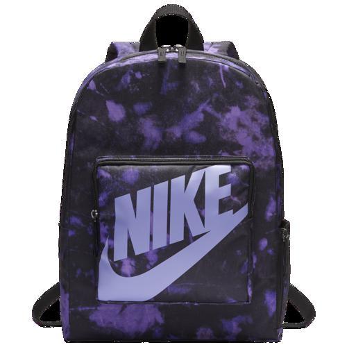 (取寄)ナイキ クラシック AOP バックパック Nike Classic AOP Backpack Black Medium Violet