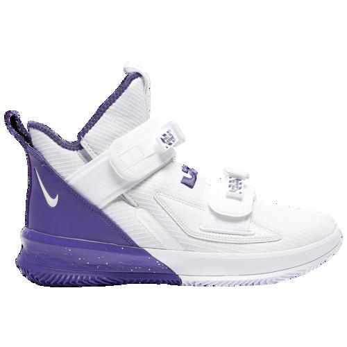 (取寄)ナイキ メンズ バッシュ レブロン ソルジャー 13 SFG バスケットボール シューズ Nike Men's LeBron Soldier XIII SFG White Field Purple