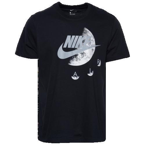 (取寄)ナイキ メンズ イクアノックス Tシャツ Nike Men's Equinox T-Shirt Black Silver White