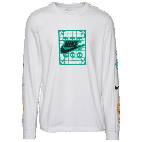 (取寄)ナイキ メンズ デイ オブ ザ デッド ロング スリーブ Tシャツ Nike Men's Day Of The Dead Long Sleeve T-Shirt White