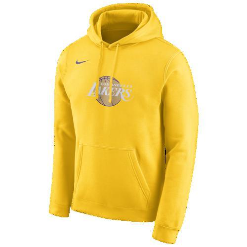 【エントリーでポイント10倍】(取寄)ナイキ メンズ パーカー NBA シティ エディション フーディ ロス エンジェルス レイカーズ Nike Men's NBA City Edition Hoodie ロス エンジェルス レイカーズ Amarillo