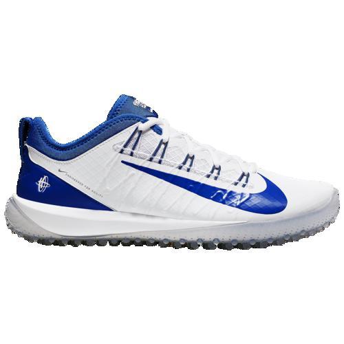 (取寄)ナイキ メンズ アルファ ハラチ 7 プロ ターフ ラクロス Nike Men's Alpha Huarche 7 Pro Turf LAX White Game Royal