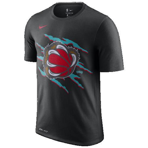 (取寄)ナイキ メンズ NBA ハードウッド クラシック ビンテージ Tシャツ メンフィス グリズリーズ Nike Men's NBA Hardwood Classic Vintage T-Shirt メンフィス グリズリーズ Black