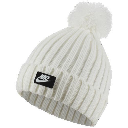 (取寄)ナイキ メンズ ニット帽 カフド ポム ビーニー 帽子 Nike Men's Cuffed Pom Beanie White White