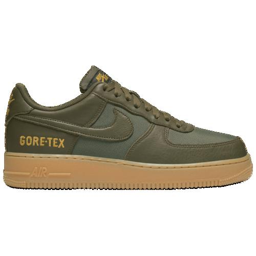 (取寄)ナイキ メンズ エア フォース 1 ロー Nike Men's Air Force 1 Low Medium Olive Sequoia Gold Black