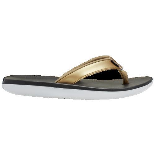 (取寄)ナイキ レディース ベラ カイ トング Nike Women's Bella Kai Thong Black Metallic Gold White