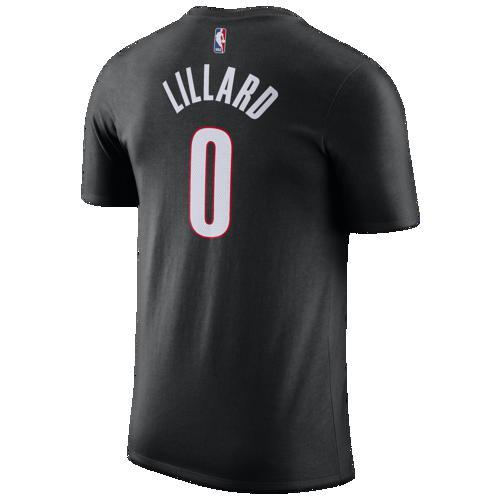 (取寄)ナイキ メンズ NBA プレーヤー ネーム アンパサンド ナンバー Tシャツ ポートランド トレイル ブレイザーズ Nike Men's NBA Player Name & Number T-Shirt ポートランド トレイル ブレイザーズ Black
