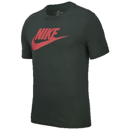 (取寄)ナイキ メンズ アイコン フューチュラ Tシャツ Nike Men's Icon Futura T-Shirt Galactic Jade Ember Glow