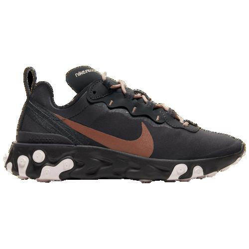 (取寄)ナイキ レディース リアクト エレメント 55 Nike Women's React Element 55 Oil Grey Oil Grey Echo Pink Metallic Red Bronze