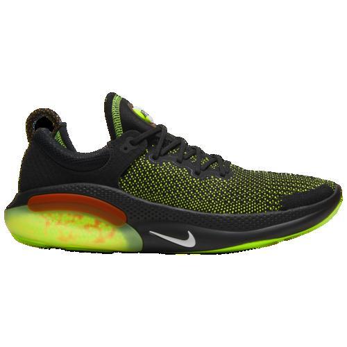 (取寄)ナイキ メンズ ジョイライド ラン フライニット Nike Men's Joyride Run Flyknit Black White Electric Green Kumquat