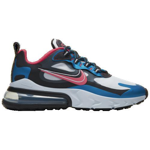 (取寄)ナイキ メンズ エア マックス 270 リアクト Nike Men's Air Max 270 React Imperial Blue Ember Glow Black