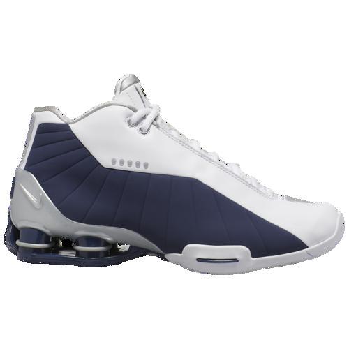 (取寄)ナイキ メンズ ショックス BB4 Nike Men's Shox BB4 White Metallic Silver Midnight Navy