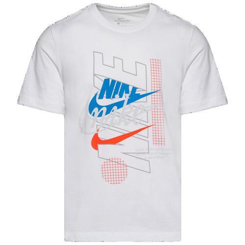 (取寄)ナイキ メンズ エボリューション オブ ザ スウッシュ Tシャツ Nike Men's Evolution Of The Swoosh T-Shirt White