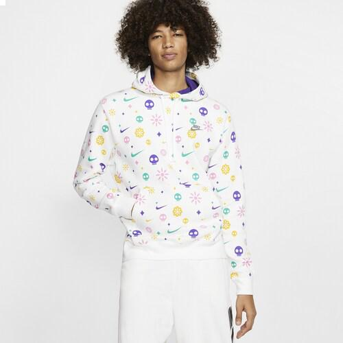(order) ナイキメンズパーカーデイオブザデッドクラブプルオーバーフーディ Nike Men's Day Of The Dead Club Pullover Hoodie White Court Purple