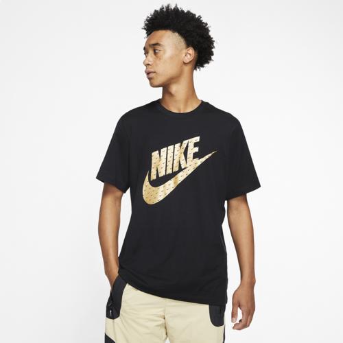(取寄)ナイキ メンズ メタリック Tシャツ Nike Men's Metallic T-Shirt Black