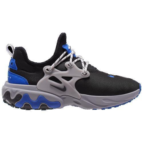 (取寄)ナイキ メンズ スニーカー リアクト プレスト シューズ Nike Men's React Presto Black Black Racer Blue Atmosphere Grey