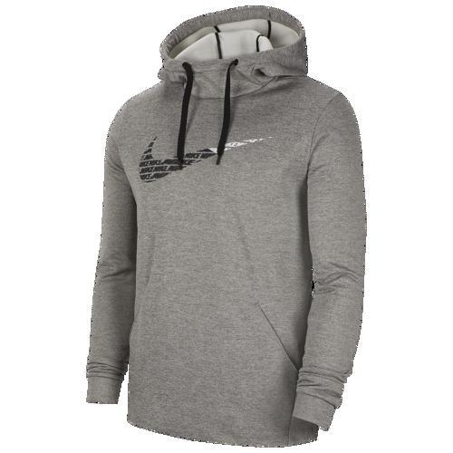 (取寄)ナイキ メンズ パーカー サーマ フリース グラフィック スウッシュ フーディ Nike Men's Therma Fleece Graphic Swoosh Hoodie Dark Grey Heather
