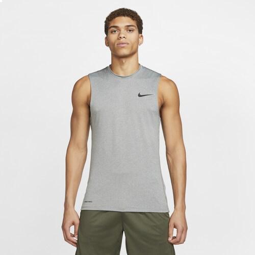 (取寄)ナイキ メンズ プロ フィッティド スリーブレス トップ Nike Men's Pro Fitted Sleeveless Top Smoke Grey Lt Smoke Grey Black