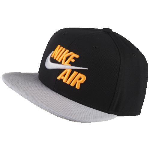 (取寄)ナイキ メンズ キャップ 帽子 クラシック エア プロ Nike Men's Classic Air Pro Cap Black Wolf Grey