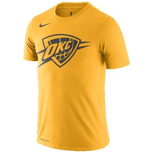 (取寄)ナイキ メンズ NBA シティ エディション FNW ロゴ Tシャツ オクラホマ シティ サンダー Nike Men's NBA City Edition FNW Logo T-Shirt オクラホマ シティ サンダー University Gold