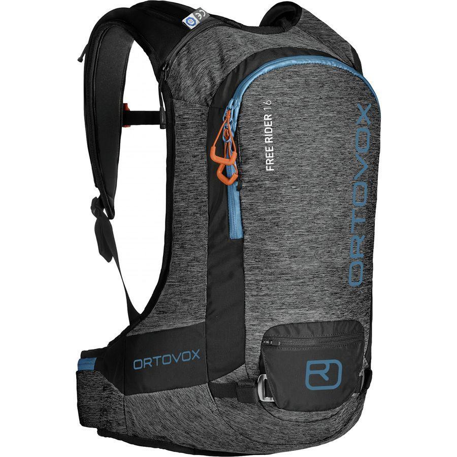 【マラソン ポイント10倍】(取寄)オルトボックス ユニセックス フリー ライダー 16L バックパック Ortovox Men's Free Rider 16L Backpack Black Anthracite Blend
