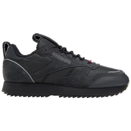 (取寄)リーボック メンズ クラシック レザー リップル トレイル Reebok Men's Classic Leather Ripple Trail True Grey Black