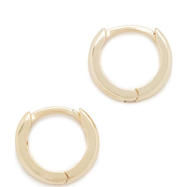 (取寄)シャシ カトリーナ フープ ピアス Shashi Katrina Hoop Earrings Gold