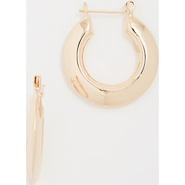 (取寄)Shashi Gianna Small Hoop Earrings シャシ ジアンナ スモール フープ ピアス YellowGold