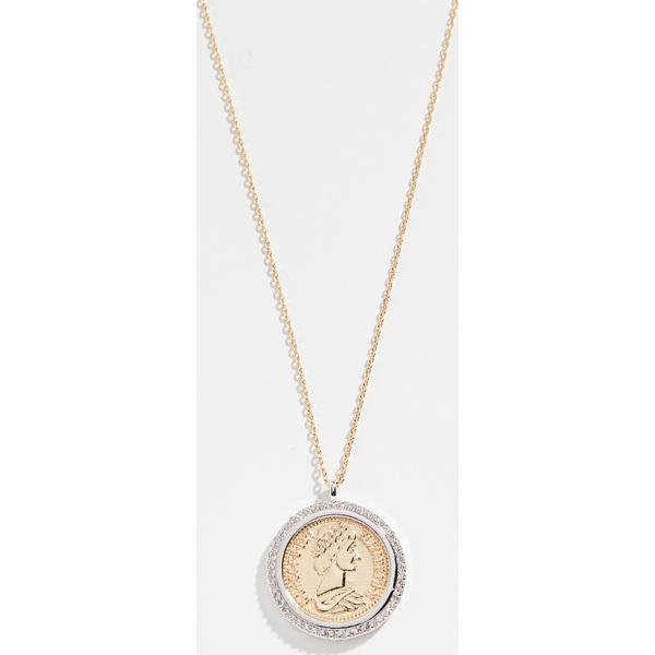 (取寄)Shashi Pendant Coin Necklace シャシ ペンダント コイン ネックレス GoldSilver