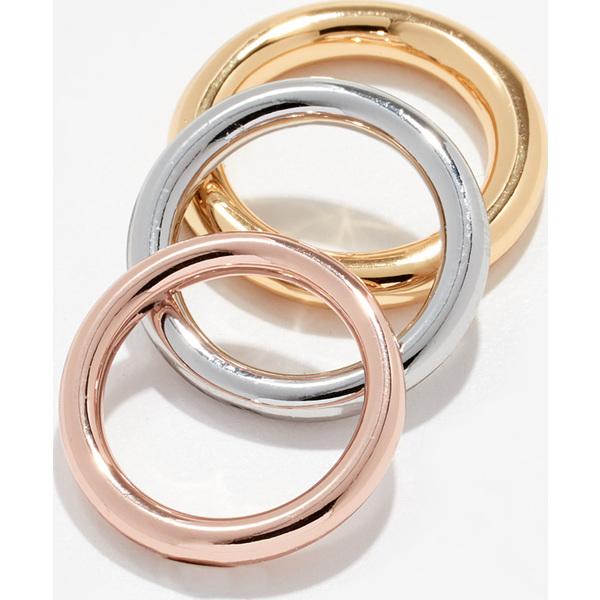 (取寄)シャシ マリコ リング セット Shashi Mariko Ring Set Gold Silver RoseGold