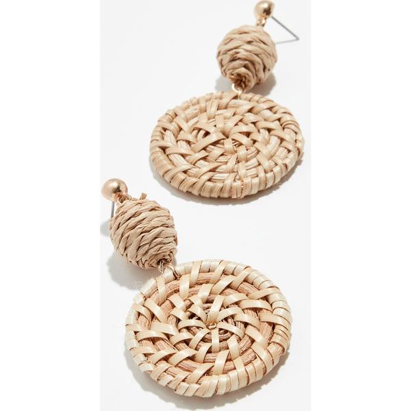 (取寄)シャシ St バース ピアス Shashi St. Barths Earrings Natural