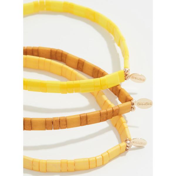(取寄)シャシ アンブラ ブレスレット セット Shashi Ambra Bracelet Set Yellow