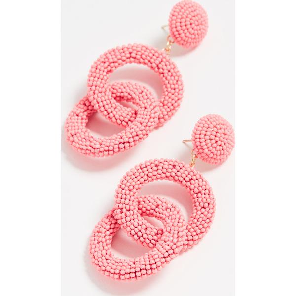 (取寄)シャシ コパカバーナ ピアス Shashi Copacabana Earrings SizzlingPink