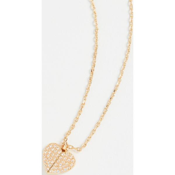 (取寄)ケイトスペード パヴェ ミニ ペンダント ネックレス Kate Spade New York Pave Mini Pendant Necklace Clear Gold