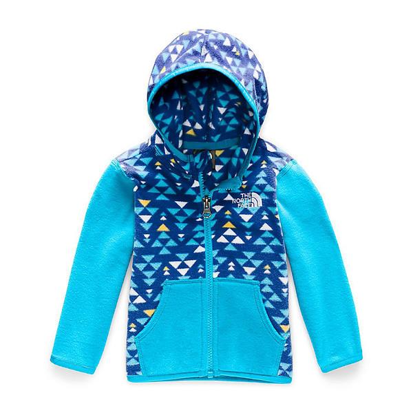 (取寄)ノースフェイス インファント グレイシャー フーディ The North Face Infant Glacier Hoodie TNF Blue Mini Aztec Print