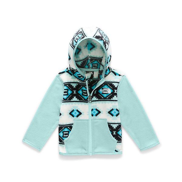 (取寄)ノースフェイス インファント グレイシャー フーディ The North Face Infant Glacier Hoodie TNF White Tribal Geo Print