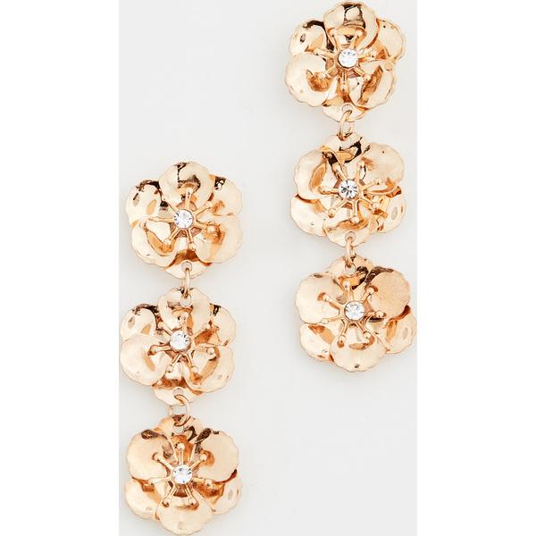 (取寄)シャシ ゴールド ガーデン ピアス Shashi Gold Garden Earrings Gold