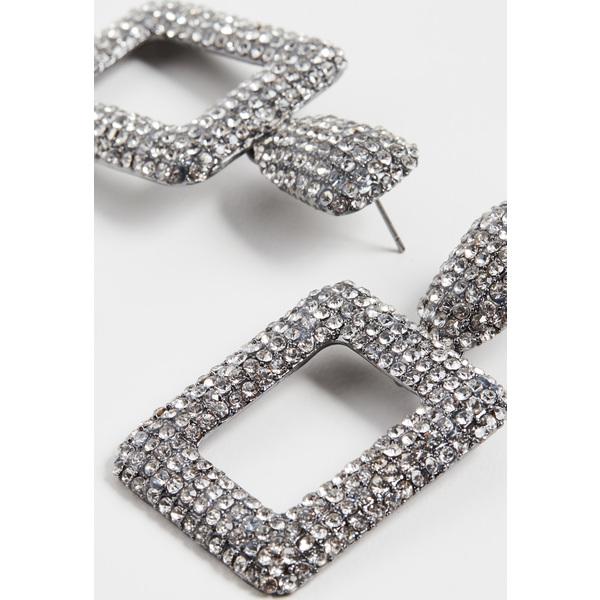 (取寄)シャシ エレクトラ ピアス Shashi Electra Earrings Crystal