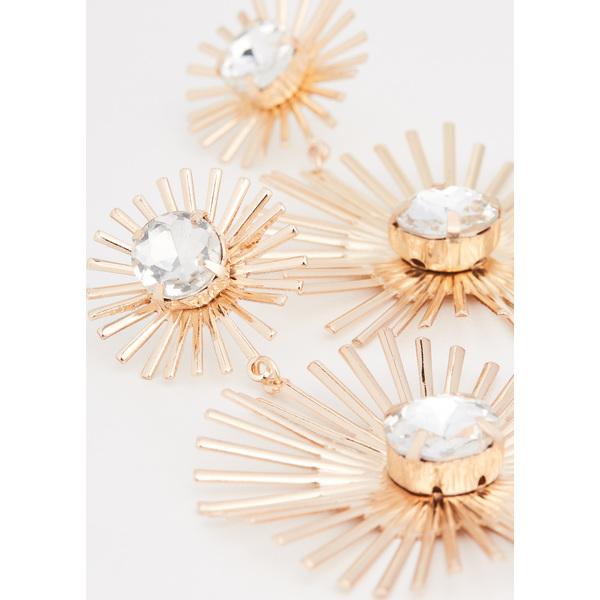 (取寄)シャシ ギャツビー ピアス Shashi Gatsby Earrings Gold