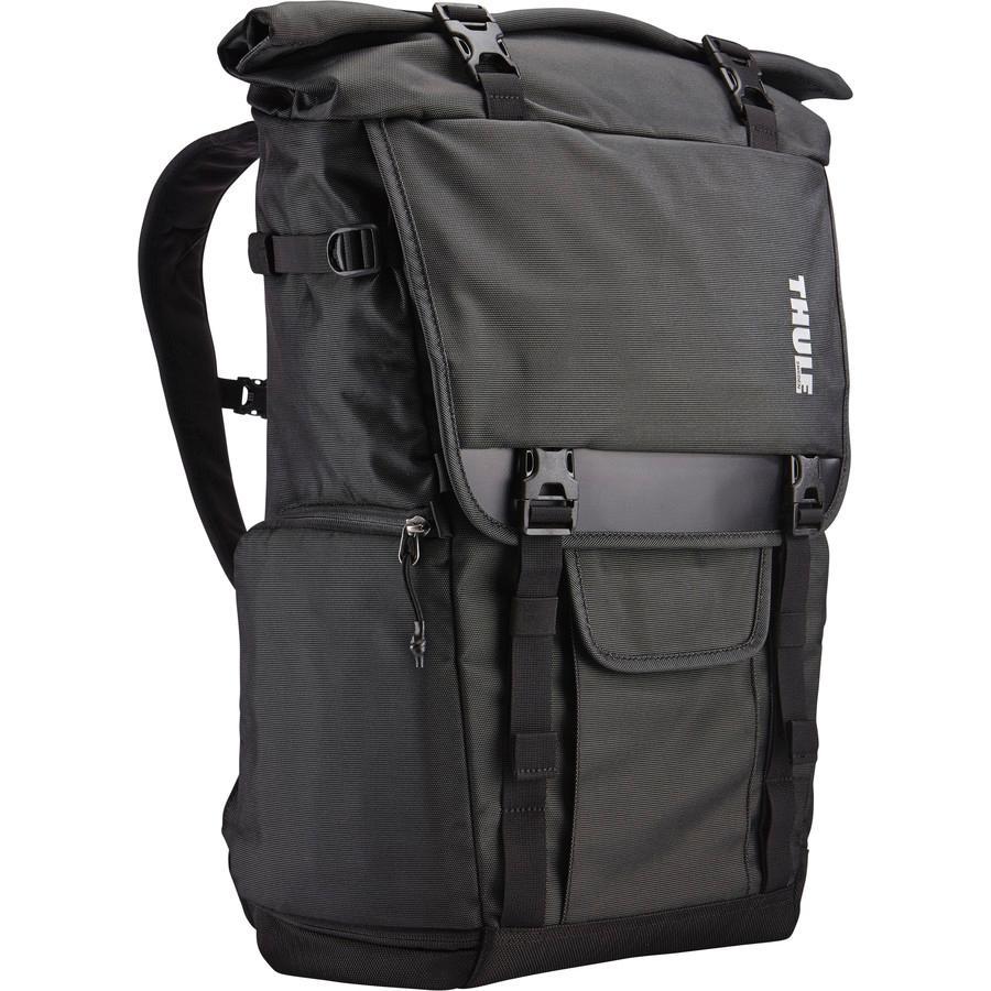 (取寄)スーリー ユニセックス コバート DSLR ロール バックパック Thule Men's Covert DSLR Roll Backpack Dark Shadow