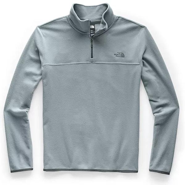 (取寄)ノースフェイス メンズ TKA グレイシャー 1/4-Zip フリース ジャケット The North Face Men's TKA Glacier 1/4-Zip Fleece Jacket Mid Grey/Mid Grey